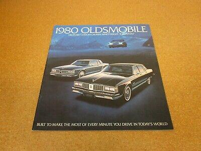 1980 Oldsmobile Toronado Delta 88 Royale Ninety-Eight sales brochure -