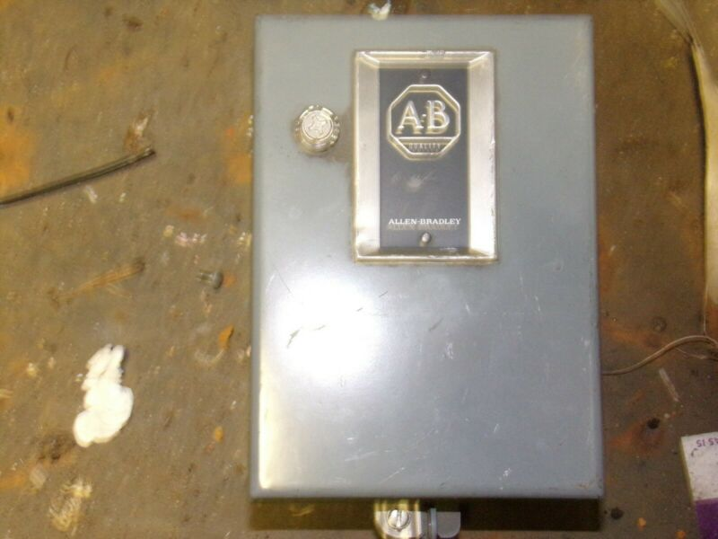 Allen Bradley Small Industrial Electric Enclosure Box *FREE SHIPPING*