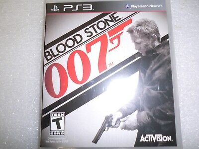 PS3 James Bond 007 Blood Stone by Activition - New/Sealed in Retail Package. comprar usado  Enviando para Brazil