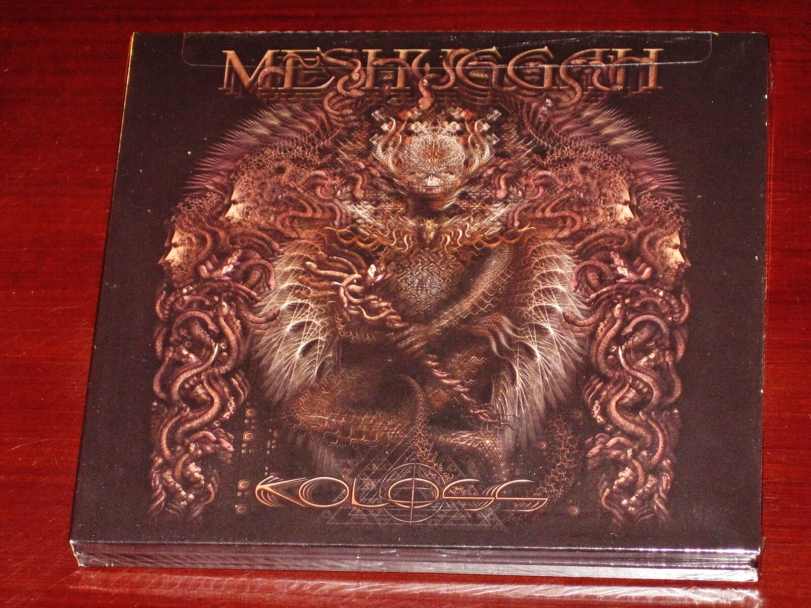 Meshuggah: Koloss Deluxe Edition CD + DVD Set 2012 Nuclear Blast USA Digipak NEW