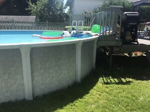 21 ft pool all Resin Aqua leader
