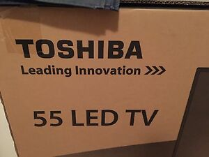 """Brand New In Box Toshiba 55"""" Inch LED TV"""