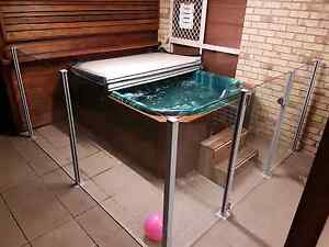 GLASS PANEL POOL SAFETY FENCE Raceview Ipswich City Preview