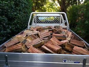 FIREWOOD - QUALITY SEASONED GUM - DELIVERED & STACKED! Ryde Ryde Area Preview