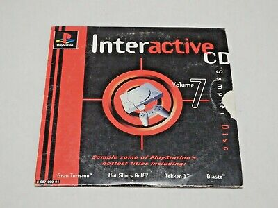 PS1 Interactive CD Volume 7 Sampler Demo Disc (Sony Playstation 1)