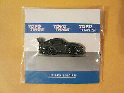 2019 SEMA Show Toyo Tires Exclusive Pinback 1//1000 Pin Toyota GR Supra