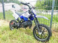 Cross Pocketbike Pocket Cross 49ccm Bike Kindercross Crossbike Nordrhein-Westfalen - Greven Vorschau