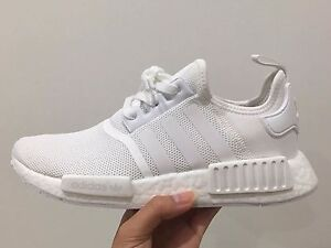 ADIDAS ORIGINALS NMD R1, TRIPLE WHITE (NEW) North Ryde Ryde Area Preview