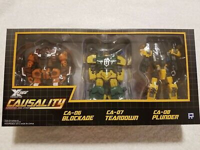 Transformers FansProject Armored Battalion Deluxe Insecticons misb US seller