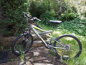 """Mountain bike 24 """" great condition used for one season!"""