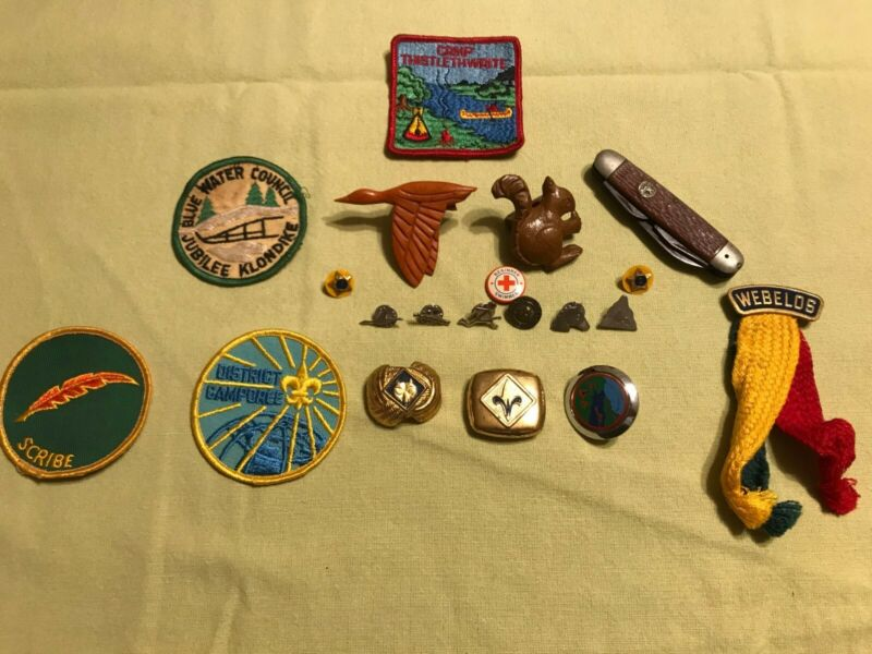 Vintage Boy Scouts of America 1960-1970 Accessory Collectables, Good Condition