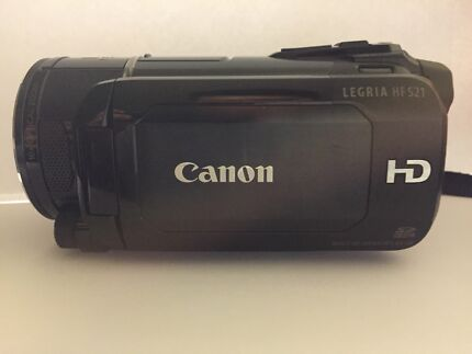 Canon LEGRIA HF S21 FULL HD video camera Connells Point Kogarah Area Preview
