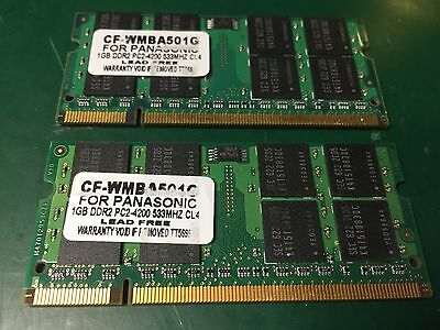 Cf Wmba501g 1gb Memory (Panasonic Toughbook 1GB DDR2 SO-DIMM PC2-4200 533MHz LAPTOP MEMORY QTY: 2)