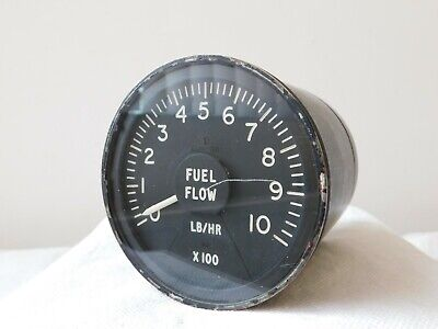 Wessex Helicopter Fuel Flow Gauge Type: 7802-22000 Ref No: 6A/4339376 [2R4A]