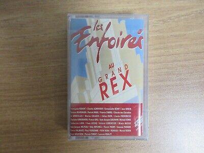 Les Enfoires Au Grand Rex 1995 Korea Cassette Tape Celine Dion Goldman SEALED
