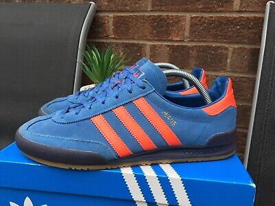 Adidas Jeans Trainers U.K Size 8 CQ2766 Manchester C/W With Box & Tags Great Con
