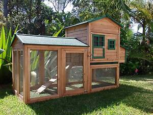 Chicken coop Somerzby Super Mansion Rabbit Hutch Cage Afterpay Somersby Gosford Area Preview