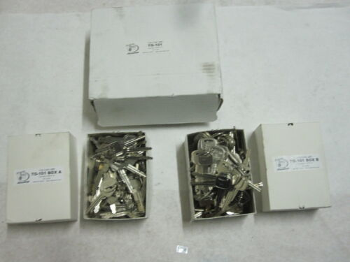 Aero Locks TO-101 Tryout Set for HY6/HY14 Key Blanks Code Series:  T0001-T1000