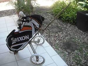 SRIXON Stand GOLF Bag, balls, clubs & Buggy Kewarra Beach Cairns City Preview