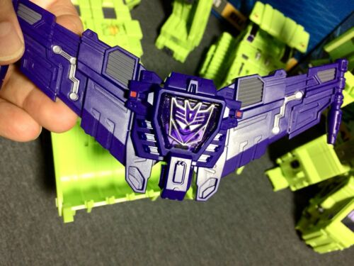 Painted Purple Metallic *CLEAN* Toyworld constructor Custom Chest Plate
