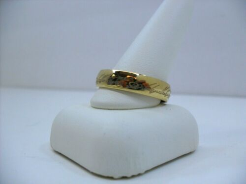 """The Lord of the Rings """"The One Ring"""" Precious LOTR Faux Gold Metal Ring Size 13"""