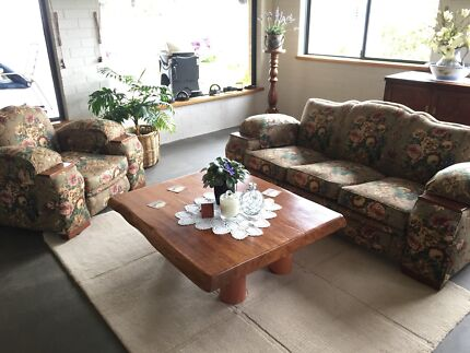 Vintage 1950's couch & 2 chairs