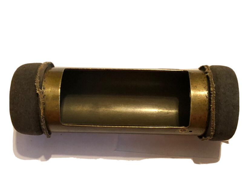 LAMSON BRASS PNEUMATIC Money Ball, Rapid Wire-Vintage Brass Money Tube #10