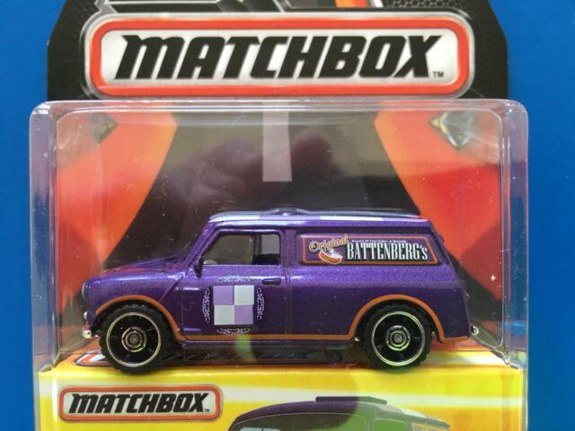 2016 BEST OF MATCHBOX - 1965 AUSTIN MINI VAN BATTENBURG'S CAKES - Mint on card