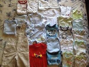 Baby Boy size 000 Clothes Bundle (23 items) - Exc. Cond Ascot Vale Moonee Valley Preview