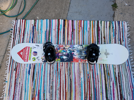 Snowboard 161w (not for small dudes)