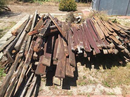Free Jarrah Firewood