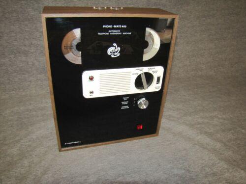 TRON-TECH INC. PHONE-MATE MODEL 400 ANSWERING MACHINE, VINTAGE, VERY NICE!