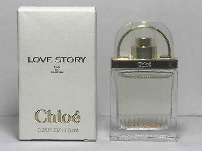 LOVE STORY for Women by Chloe Perfume 0.25oz / 7.5ml EDP MINI NEW IN BOX