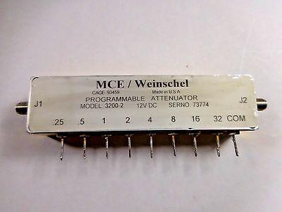 Weinschel 3200-2-2 Programable Attenuator