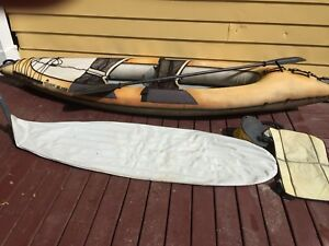 Stearns Inflatable Kayak and Gear $120 obo