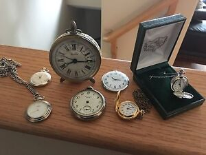 Assortment of pocket watches