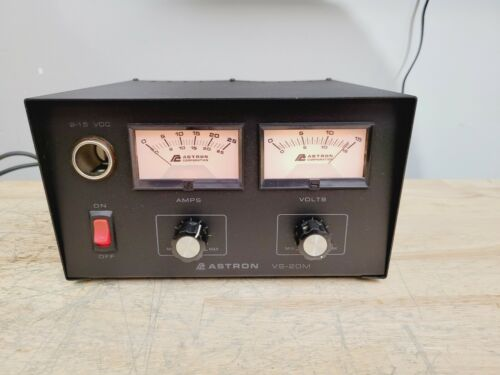 ASTRON VS-20M Power Supply Meters Variable C MY OTHER HAM RADIO GEAR ON EBAY