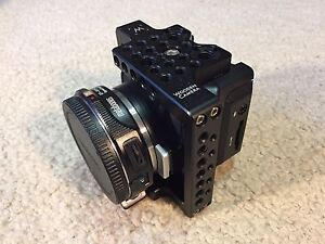 Black Magic Micro Cinema Camera, Speedbooster EF to Pocket