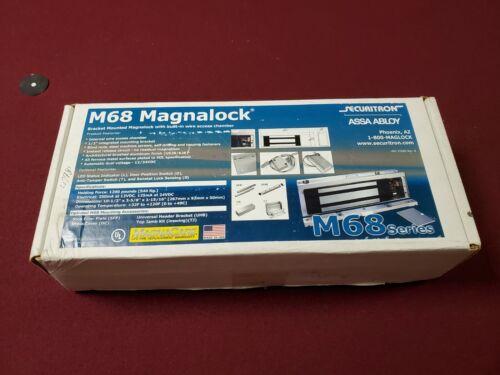 Securitron ASSA ABLOY M68 Magnetic Door Lock 12/24VDC 1200 lbs New in Box