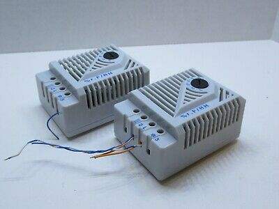 Lot Of 2 Stego Mfr 012 Mfr012 250v 20w Humidity Controller
