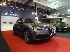 2018 Alfa Romeo Stelvio SPORT / NAVIGATION / AWD / BACK UP CAMER