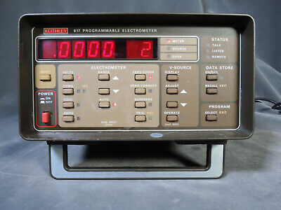 Nasa Owned Keithley 617 Digital Programmable Electrometer Wtriax Input