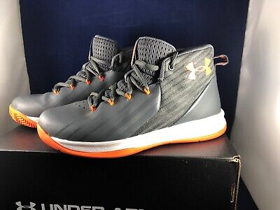 YOUTH BIG KIDS UNDER ARMOUR JET UA Basketball Shoes Size 3Y w/ BOX $55