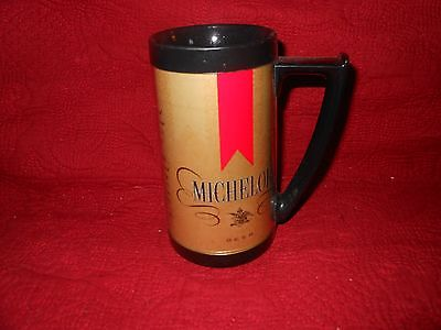 Vintage 1970's Thermo-Serv Michelob Plastic Insulated Beer Mug/Stein