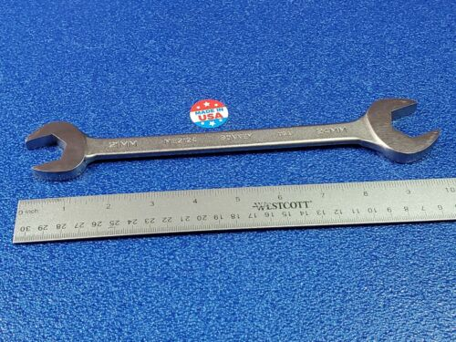 BONNEY USA 21MM X 24MM ME2124 OPEN END WRENCH CLASSIC MADE IN USA HAND TOOL LOT
