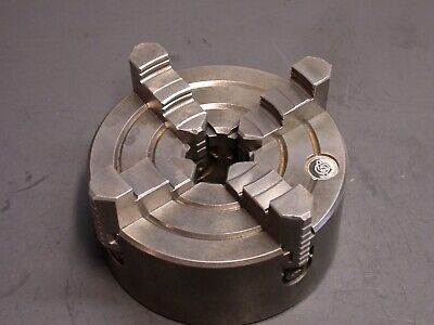 5 Independent Plain Back 4 Jaw Metal Lathe Chuck Logan Atlas South Bend Lathes