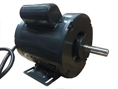 12 Hp X 58 Shaft 3450 Rpm Electric Motor Single Phase 120v 60hz