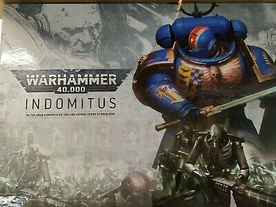 Warhammer 40K Space Marine Indomitus Half *Free Shipping*