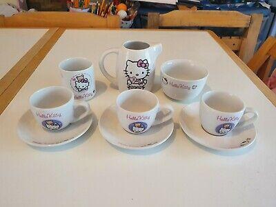 Vintage Hello Kitty Tea Set