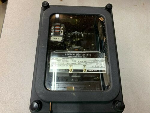 NEW NO BOX GE OVERCURRENT RELAY 121AC53A801A